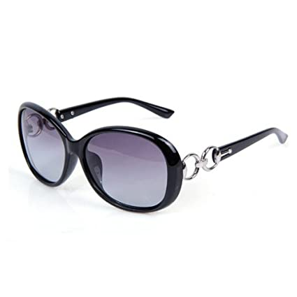 Gafas de sol polarizadas para mujer Monbedos con protección UV y marcos grandes