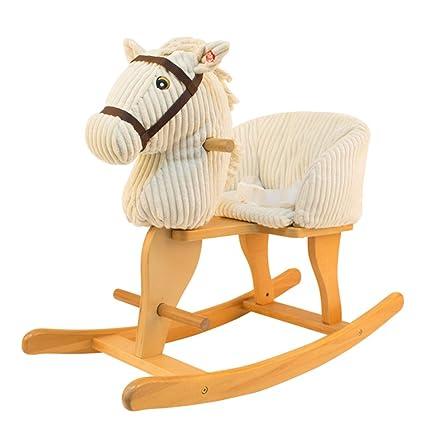 Cavallo Dondolo Bambini.Cavallo Dondolo Cavallo Di Legno Per Bambini Legno Massello