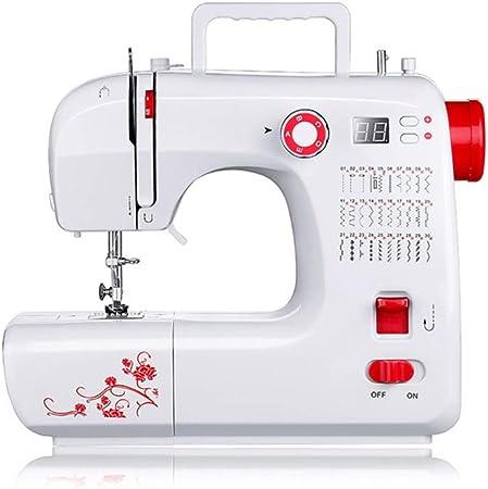 XF Máquina de coser mini computadora portátil de servicio pesado ...