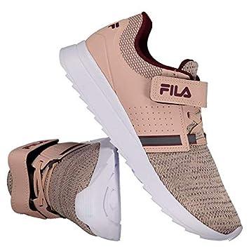 71fc6c502e1 Tênis Fila Effect Vlc Infantil Rosa  Amazon.com.br  Esportes e Aventura