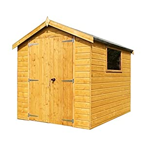 Groundsman Tongue And Groove Apex Garden Shed Double Door