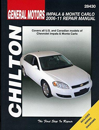 amazon com chevy impala monte carlo chilton repair manual 2006 rh amazon com 2005 Chevy Equinox Repair Manual 2005 Chevy Equinox Repair Manual