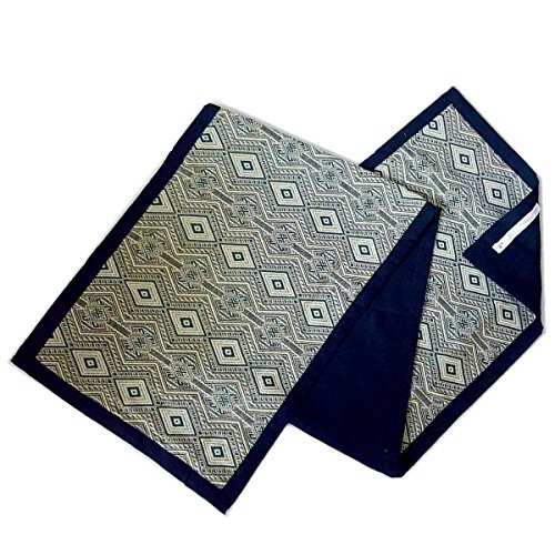 luxury-table-runner-with-turquoise-green-pattern-and-black-border-and-back-64-by-tamarind-bay