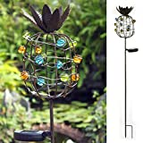 Kaixoxin Solar Garden Stake Lights, Outdoor Waterproof Metal Pineapple LED Decorative Lights Yard, Lawn, Pathway, Grass, Park, 38.98 inch Tall …