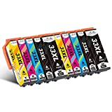 Cseein 10pk Compatible T3357 33XL Ink Cartridges Replacement for Use with Expression Premium XP-530 XP-540 XP-630 XP-635 XP-640 XP-645 XP-830 XP-900 Printers