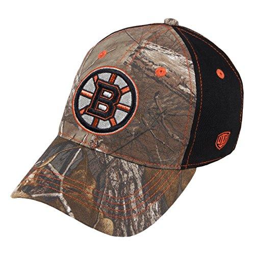 Boston Bruins Tobias Camo Unstructured Buckle Adjustable Hat / (Boston Bruins Womens Adjustable Hat)