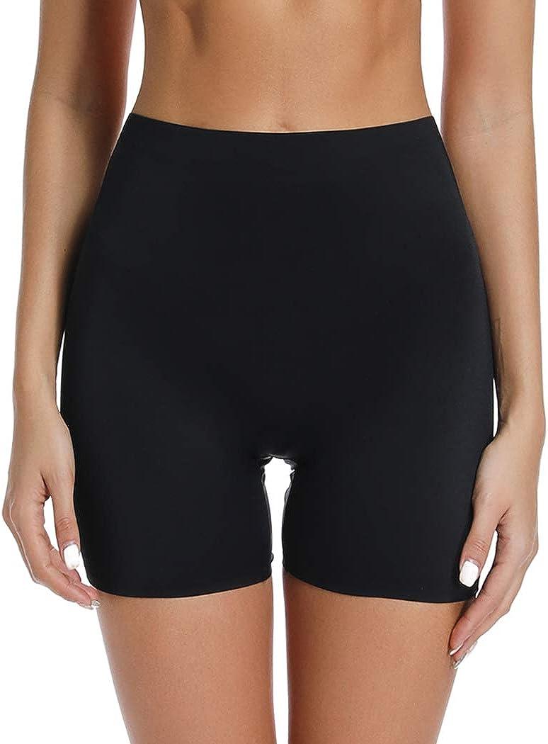 Joyshaper Slip Shorts for Under Dresses High Waisted Anti Chafing Underwear Smooth Under Skirt Shorts