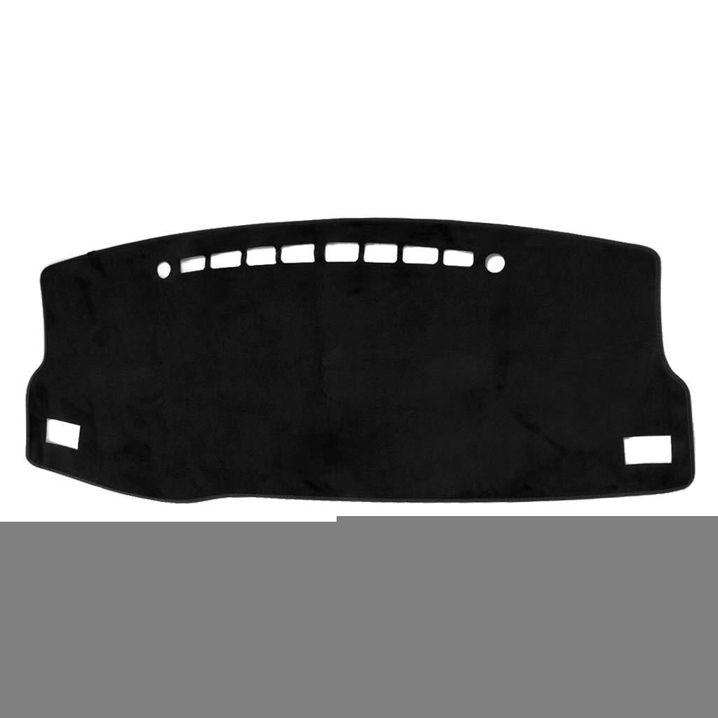 SEAyaho Car Floor Mats, Car Dashboard Carpet Non-Slip Flannel Sun Shade Cover Pad for Toyota Corolla