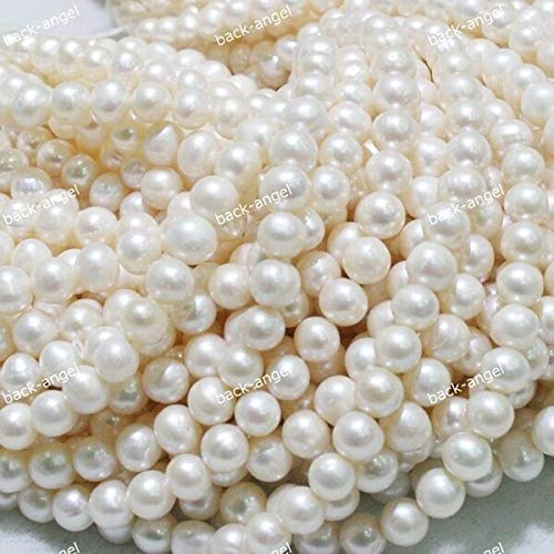 FidgetFidget Natural Freshwater Pearl Freeform Loose Charm Beads 14