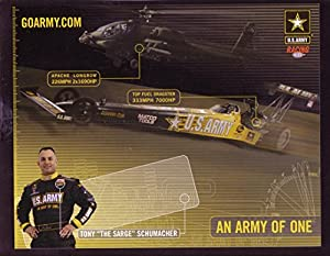 TONY SCHUMACHER NHRA HERO CARD TOP FUEL RACING 2005 VF