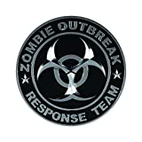zombie chrome emblem - Pilot Automotive Pilot IP-3143 Zombie Response Team Emblem - Chrome/ Black, 1 Pack