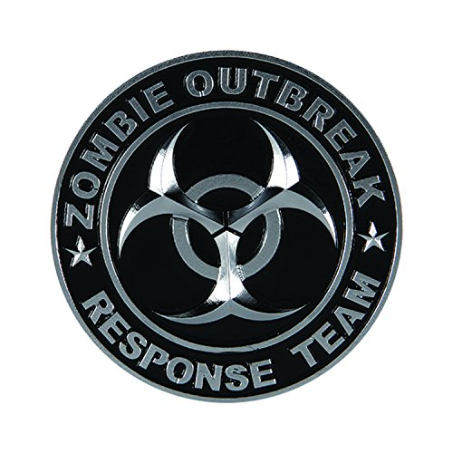 Pilot Automotive Pilot IP-3143 Zombie Response Team Emblem-Chrome/Black ()