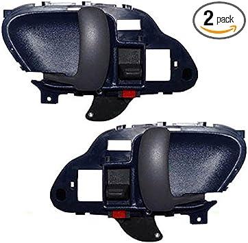Drivers Inside Inner Blue Door Handle Replacement for Chevrolet GMC Pickup Truck 15708045 AUTOANDART