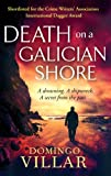 Front cover for the book Death on a Galician Shore by Domingo Villar