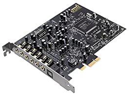 Creative Sound Blaster Audigy PCIe RX 7.1 Sound Card SB1550(Certified Refurbished)