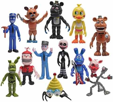 Mr Bigz Fnaf Five Nights at Freddy's Action Figures Toys Dolls (12 Piece), 4