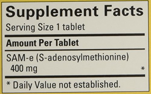 Nature Made SAM-e Complete 400 mg - 2 Boxes, 60 Enteric Tablets Each by Nature Made (Image #2)