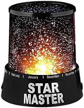 Proyector estrella - lámpara de noche Star Master #827: Amazon ...
