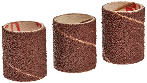Gator Finishing 6078 50 Grit Aluminum Oxide Drum Sanding Sleeves (3 pack), 0.75