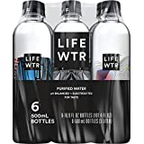 LIFEWTR, Premium Purified Water, pH Balanced with Electrolytes For Taste, 16.9 Fl Oz (6 Bottles) (Packaging May Vary)
