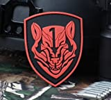 Medal of Honor : MOH AFO Wolf pack PVC 3D Rubber Velcro Patch