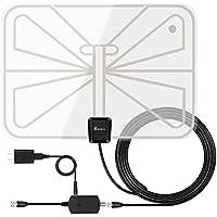 Vansky Indoor Amplified HD Digital TV Antenna 50 Mile Range