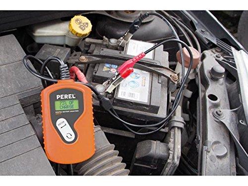 Medidor de energ/ía y bater/ía Perel ABA12 0-50 /°C, LCD, 240 g