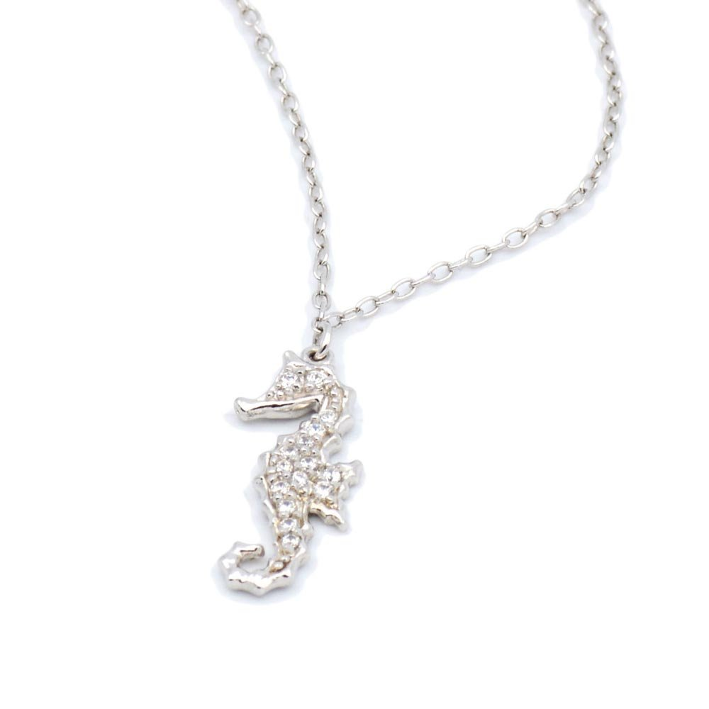 17 mm 14K White Gold Jewish Chai Pendant Jewels Obsession Chais Pendant