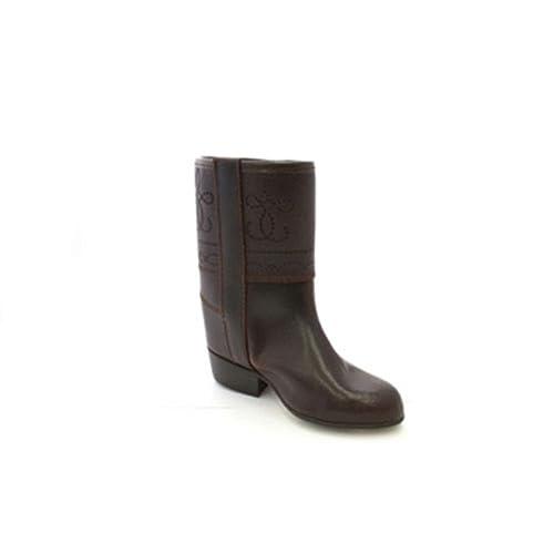 496aa3398 Bota campera niña con Grabados Danka en marrón T1498  Amazon.es  Zapatos y  complementos