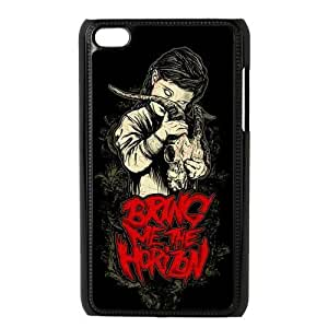 Custom Bring Me The Horizon Design Plastic Snap On Case Cover Shell Protector For ipod touch 4 4th
