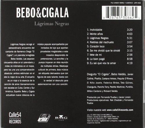 Valdes Bebo Diego El Cigala Lagrimas Negras Music