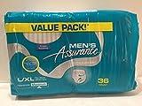 Men's Assurance Underwear Value Pack 36 Count (1 Pack)