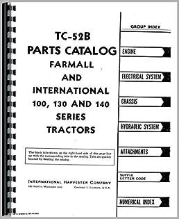 farmall 140 tractor parts manual 0739718038738 amazon com books Farmall 450 Tractor Craigslist