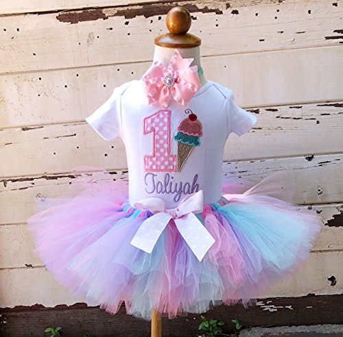 864c0711 Image Unavailable. Image not available for. Color: Sweet Shoppe 1st  Birthday Tutu ...