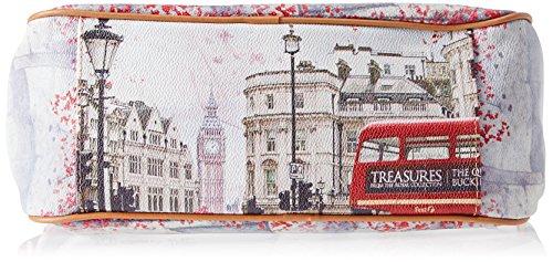 H cm 12x25x30 Bus W x L x YNOT Ride 370 Tracolla Donna J Borsa Multicolore Multicolore a wYYAvgS0q