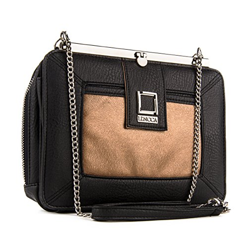 lencca-esvivina-vegan-leather-crossbody-smartphone-clutch-wallet-purse-with-shoulder-strap-black-cop