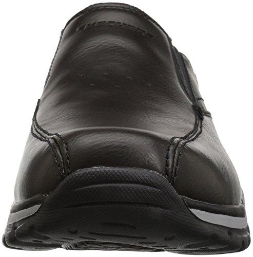black Skechers venten Noir Homme Mokassins Rovato r004qXa