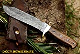 bush master knives - DKC-518 BUSH MASTER Damascus Tanto Bowie Hunting Handmade Knife Fixed Blade 14 oz 1 Foot Long 12
