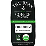 The Bean Coffee Company Organic Cold Brew Packs, Dark Roast, 12 Ounce