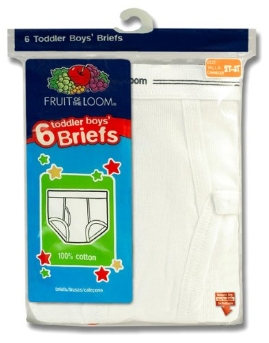 Fruit of the Loom Little Boys' Brief  (Pack of 6)