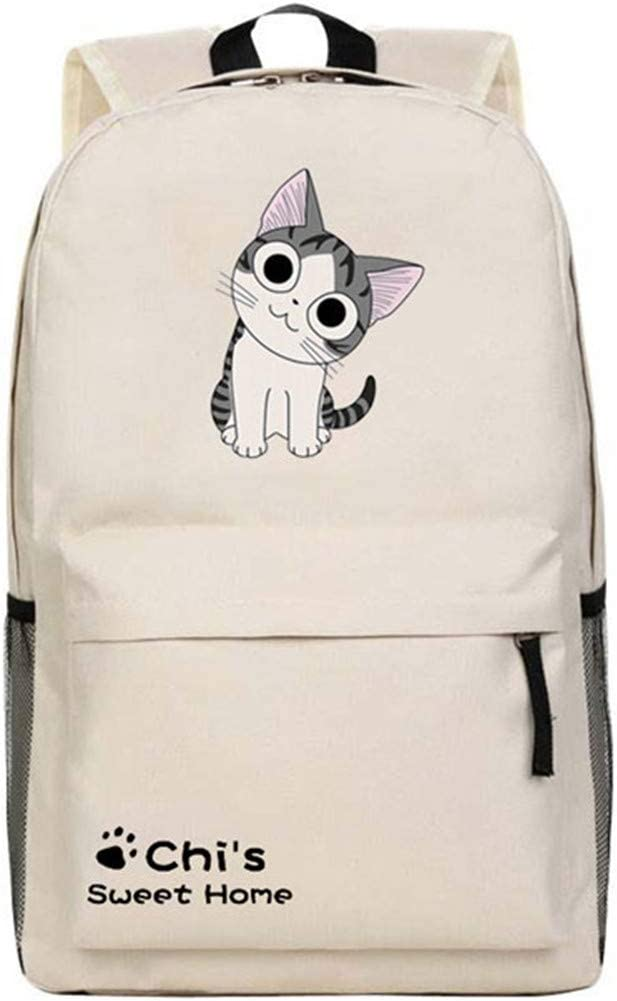 Cartoon Anime Chi's Sweet Home Backpack Chi Cute Cat Printing Nylon Shoulder Bag Middle School Student Schoolbags Kids Gift 5