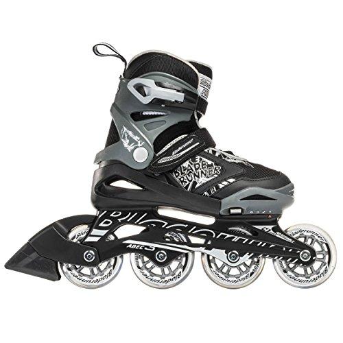 Bladerunner by Rollerblade Phoenix Boys Adjustable Fitness Inline Skate, Black and Silver, Junior, Value Performance Inline Skates by Bladerunner (Image #7)