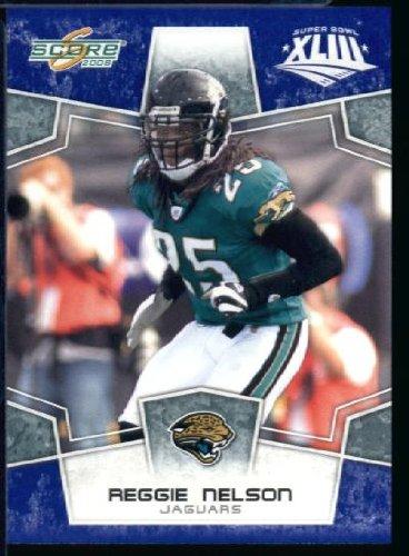 2008スコアSuperbowlブルーNFLフットボールカード ) – ( Limited to 1200 Made ) Limited B00B7TVZUM # 146 ReggieネルソンS – Jacksonville Jaguars B00B7TVZUM, オリジナルスマホケースのEPS:96e90333 --- harrow-unison.org.uk