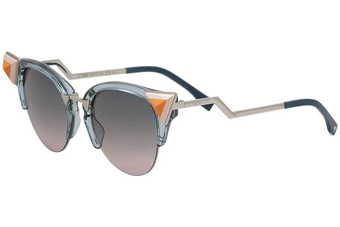15d3ef45b1a Fendi FF0041 N S BR0 Blue Pink FF0041 N S Cats Eyes Sunglasses Lens  Category  Amazon.co.uk  Clothing