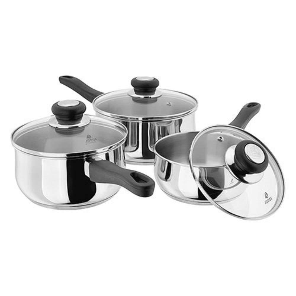 Judge Vista 3 Piece Set - 16/18/20cm Horwood Homewares JJA1 Cookware Cookware Sets
