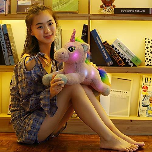Amazon.com: GOONEE Unicornio peluches de unicornio LED ...