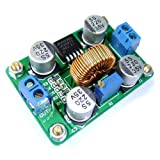 DROK DC-DC 3.5-30V to 4-30V Adjustable LM2587 Boost Regulator Step-up Power Converter Power Supply Module Board with High Power Terminal for Solar Panel Car Battery