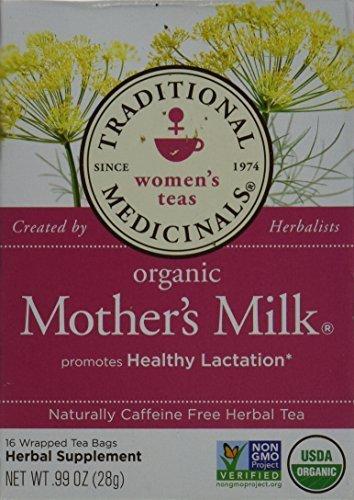 Traditional Medicinals Teas Organic Mother's Milk Tea Bags