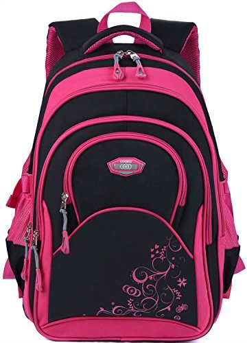 Amazon.com: Coofit mochila escolar para niñas Cute Bookbag ...