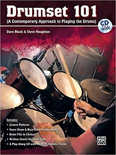 Drumset 101 (A Contemporary Approach To Playing The Drums) Book & CD by Dave Black & Steve Houghton (2007)